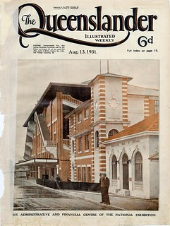 Illustrated front cover from The Queenslander, August 13, 1931