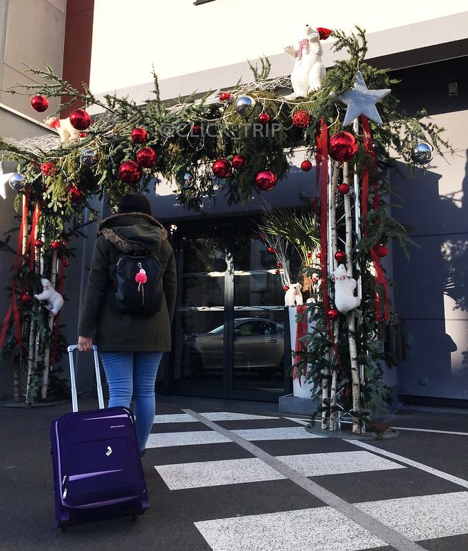 Entrada al Colmar Hotel · Descubre Colmar en Navidad · Hoteles en Colmar · Alsacia · Francia · Click_Trip ·