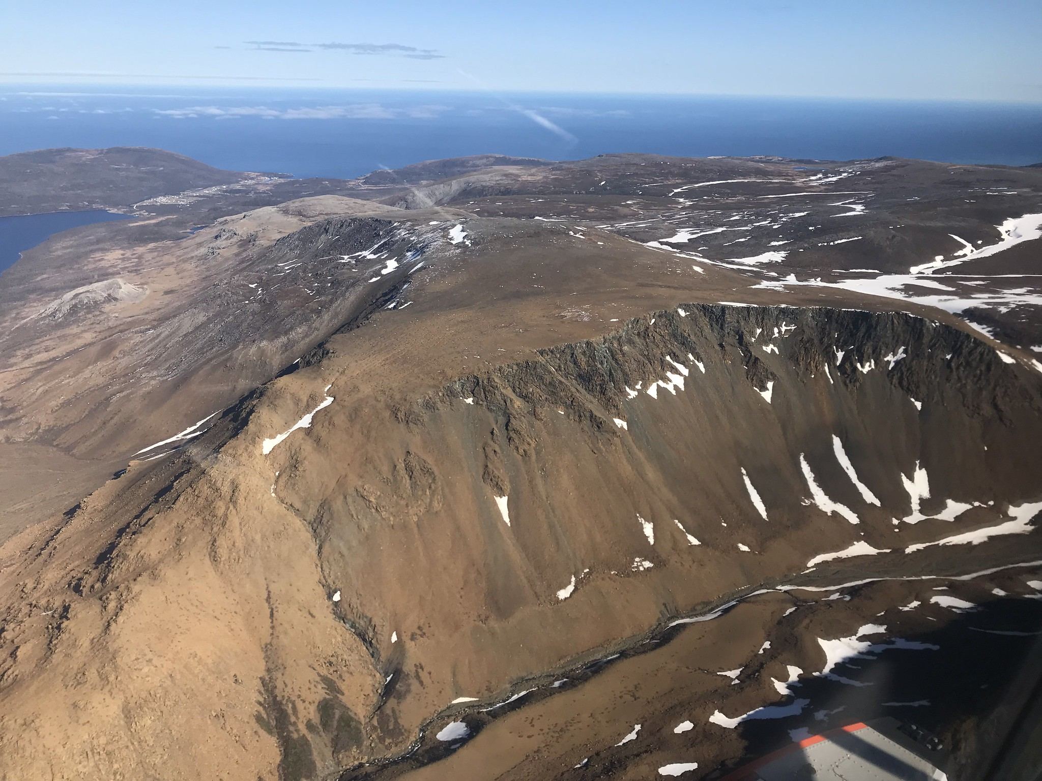 Dramatic scenery in and around Gros Morne National Park, Newfoundland, May 2018 Photo Credit: USFWS