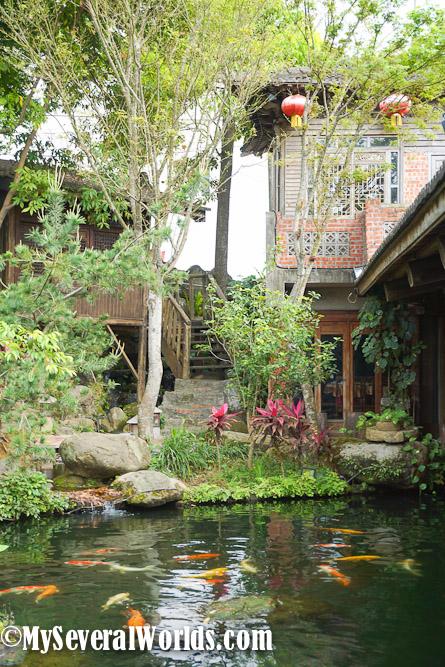 Jwu Jiu Teahouse in Chiayi