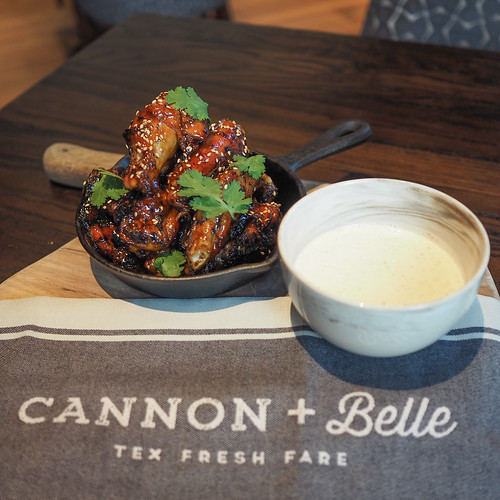 Cannon & Belle Honey Black Garlic Wings
