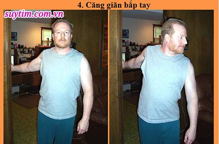 Động tác tập thể dục thứ 4 cho người bệnh suy tim