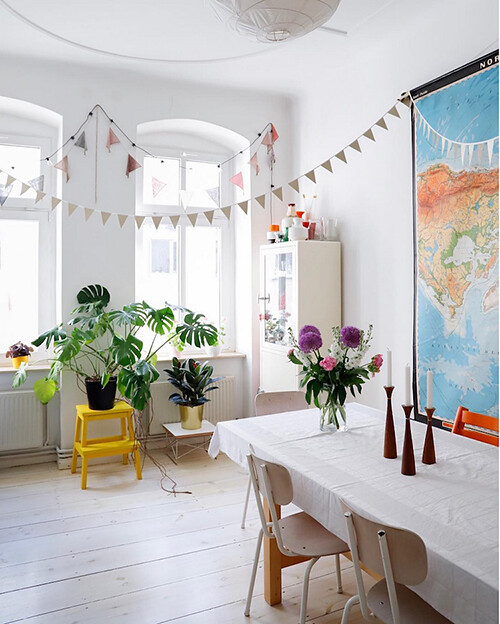 01 plants maps decoration children