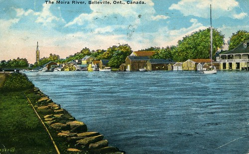 1930s rivers buildings boats clocktowers sailboats bridges