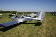G-CBIY Evektor EV-97 [2001-1138] Popham 050518
