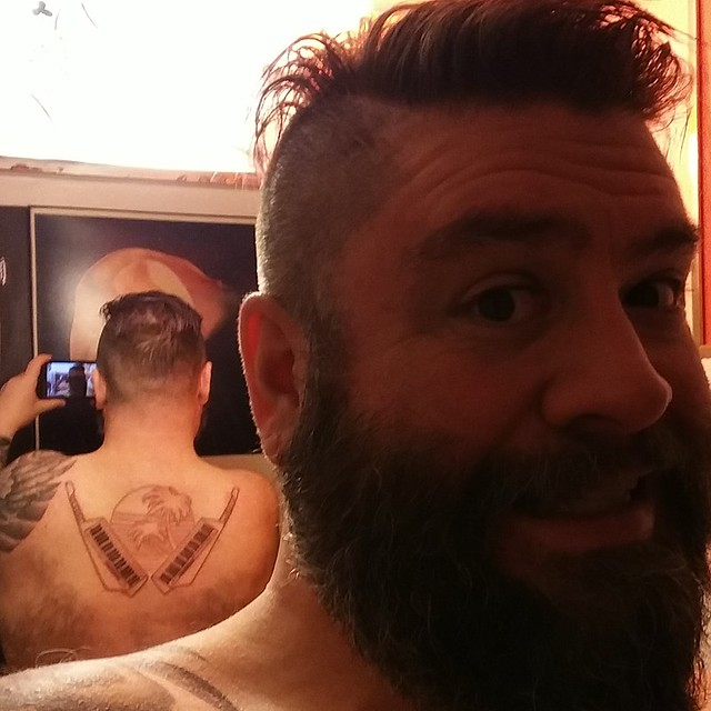We started my backpiece