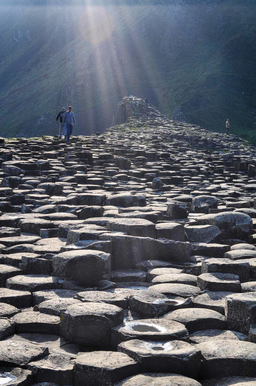 Giant's Causeway, County Antrim, Northern Ireland. Credit Voytazz86