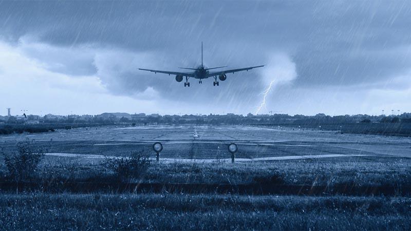 Ilustrasi. Perubahan iklim bisa pengaruhi penerbangan.
