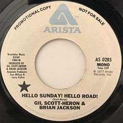 GIL SCOTT-HERON & BRIAN JACKSON:HELLO SUNDAY! HELLO ROAD!(LABEL SIDE-B)