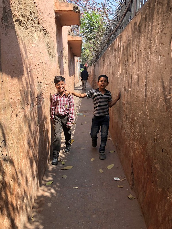 City Landmark -- The Long Narrow Entry Lane, Basti Mir Dard
