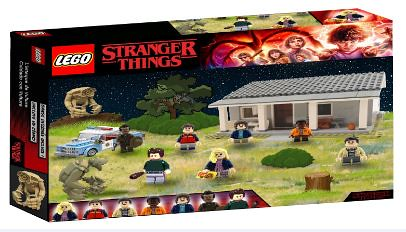 Lego Stranger Things Demogorgons Attack 75490 Set Phot