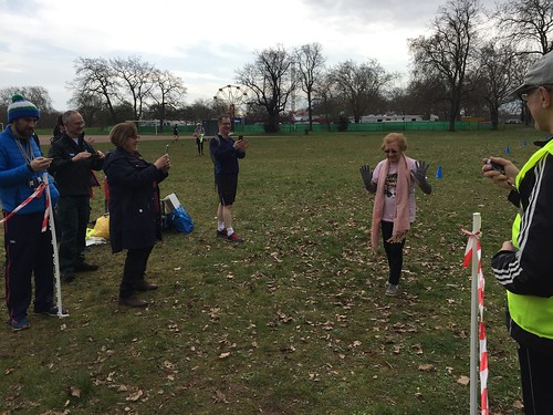 Clapham Common #3 7-4-18 Lucy,s 90th birthday ( our 1st CC Parkrun!)