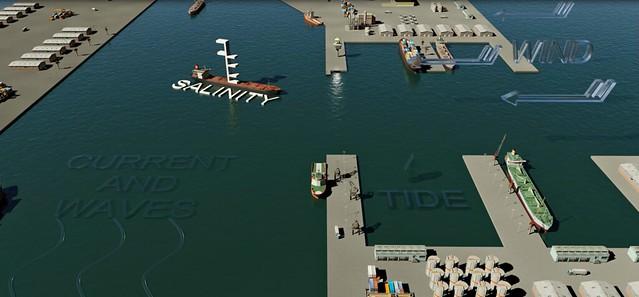 các yếu tố ảnh hưởng đến an toàn cảng