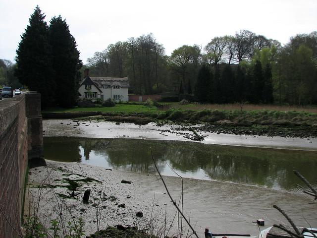 The River Deben from Wilford Bridge