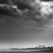Dramatic Sky Over Granton Gasometer