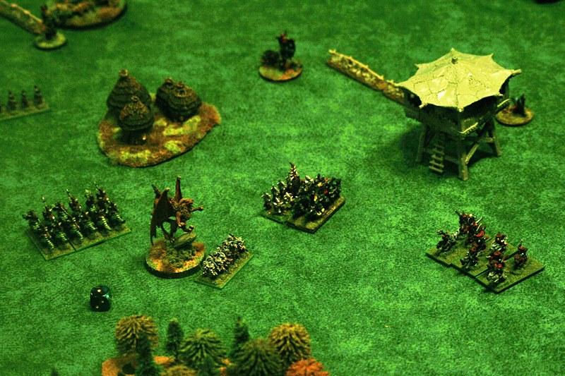 [1250 - Orcs & Gobs vs Elfes-Noirs] Attaque du village orc 41418157171_a6b5af164e_c