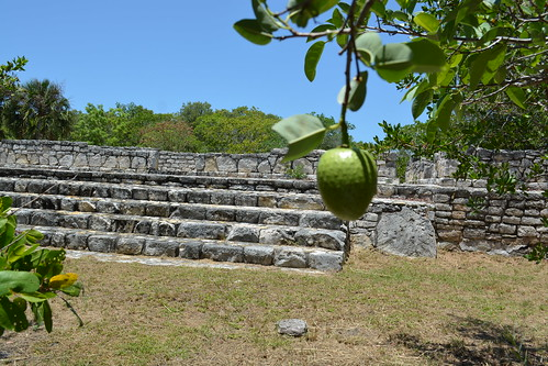 Z.A. X'cambo, Yucatan. Esta es una de las estructuras que no se encuentra en la Plaza Principal.