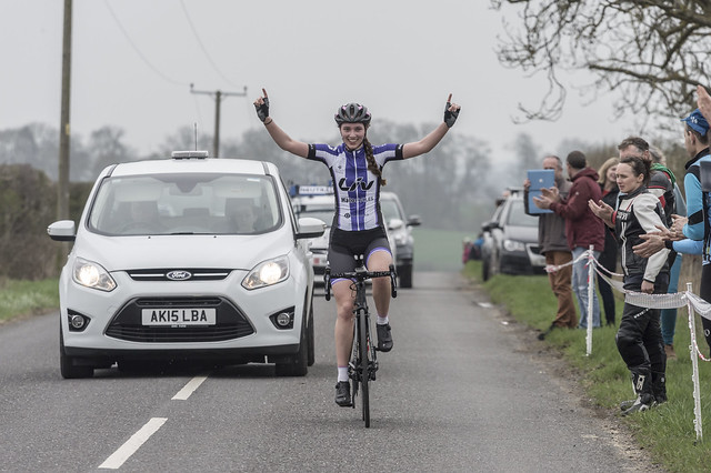 British Cycling Junior Womens Road Race Series Rnd 1 Witham