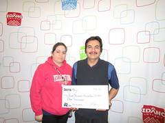 Flor Delgado and Victor Nava- $1,000 Pot O Gold