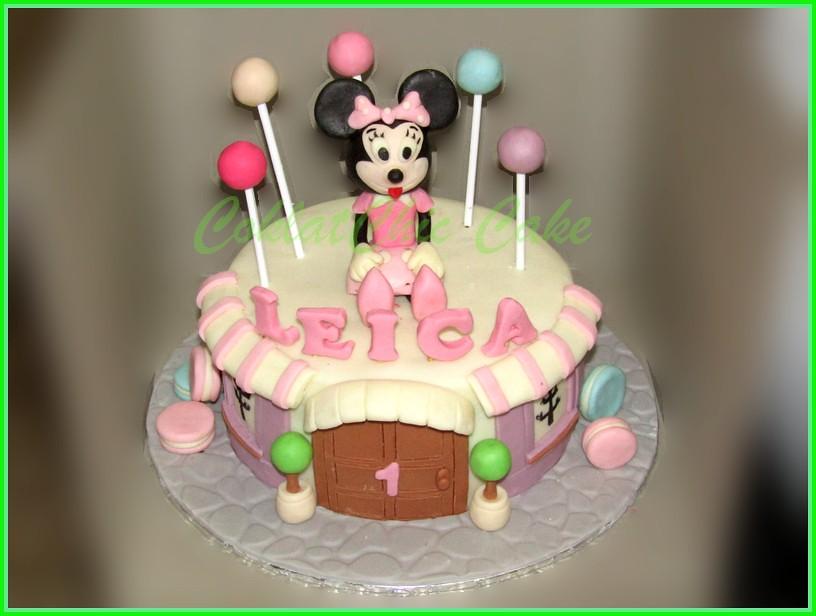 Cake Minnie Mouse LEICA 18 cm