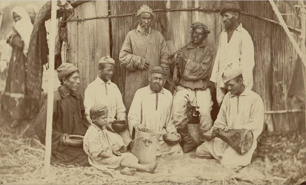 Курайчи - башкирский певец и дудошник