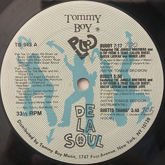 DE LA SOUL:BUDDY & GHETTO THANG(LABEL SIDE-A)