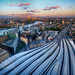 Sunset in London, United Kingdom by ` Toshio '