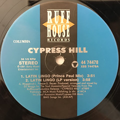CYPRESS HILL:LATIN LINGO(LABEL SIDE-A)
