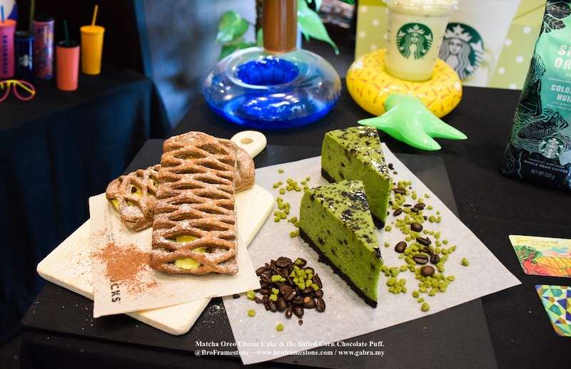 Matcha Oreo Cheese Cake and the Salted Corn Chocolate Puff.