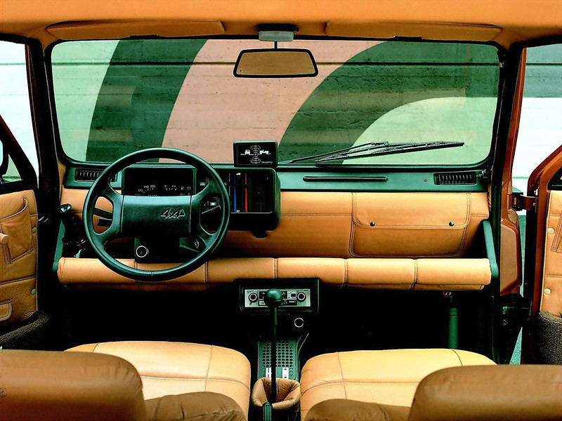 1980 FIAT PANDA 4×4