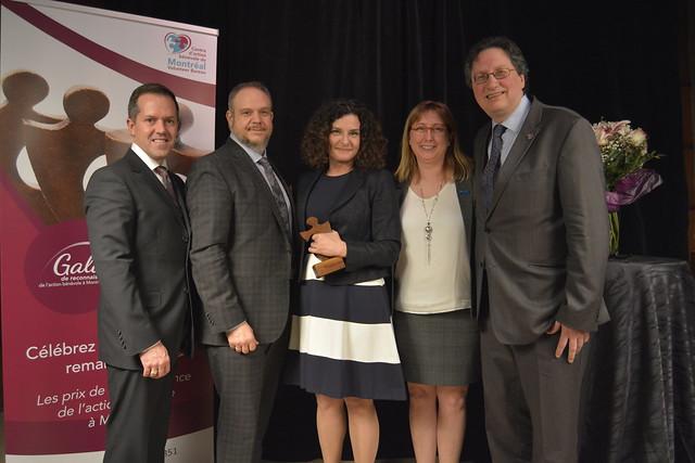 1er Gala de reconnaissance de l'action bénévole à Montréal