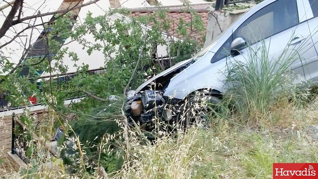 Alanya'da korkutan kaza: 2 yaralı