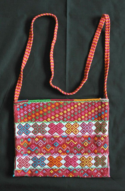 Tenejapa Chiapas Mexico Woven Bag