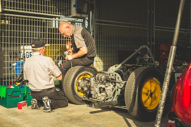 Team Lotus at work