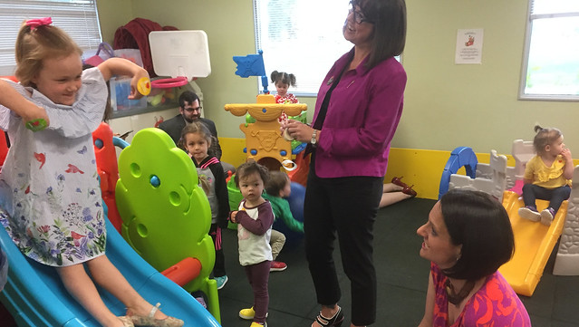 Affordable child care spaces for military families