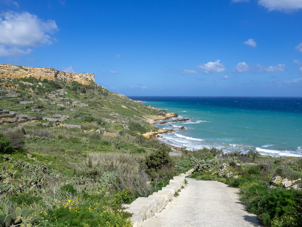 San Blass beach Gozo