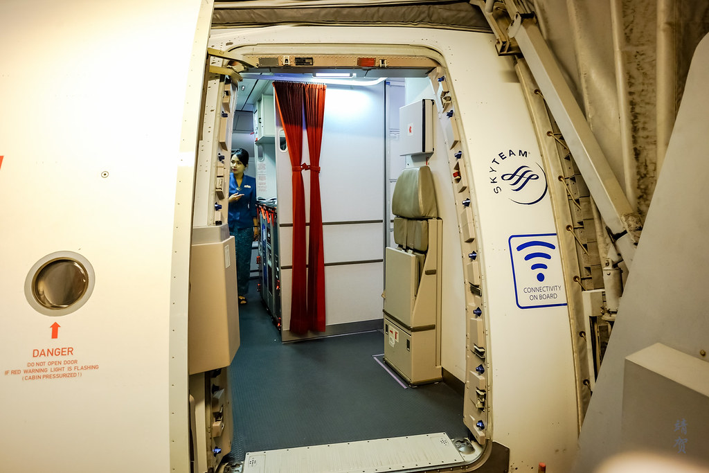 Entry to the plane