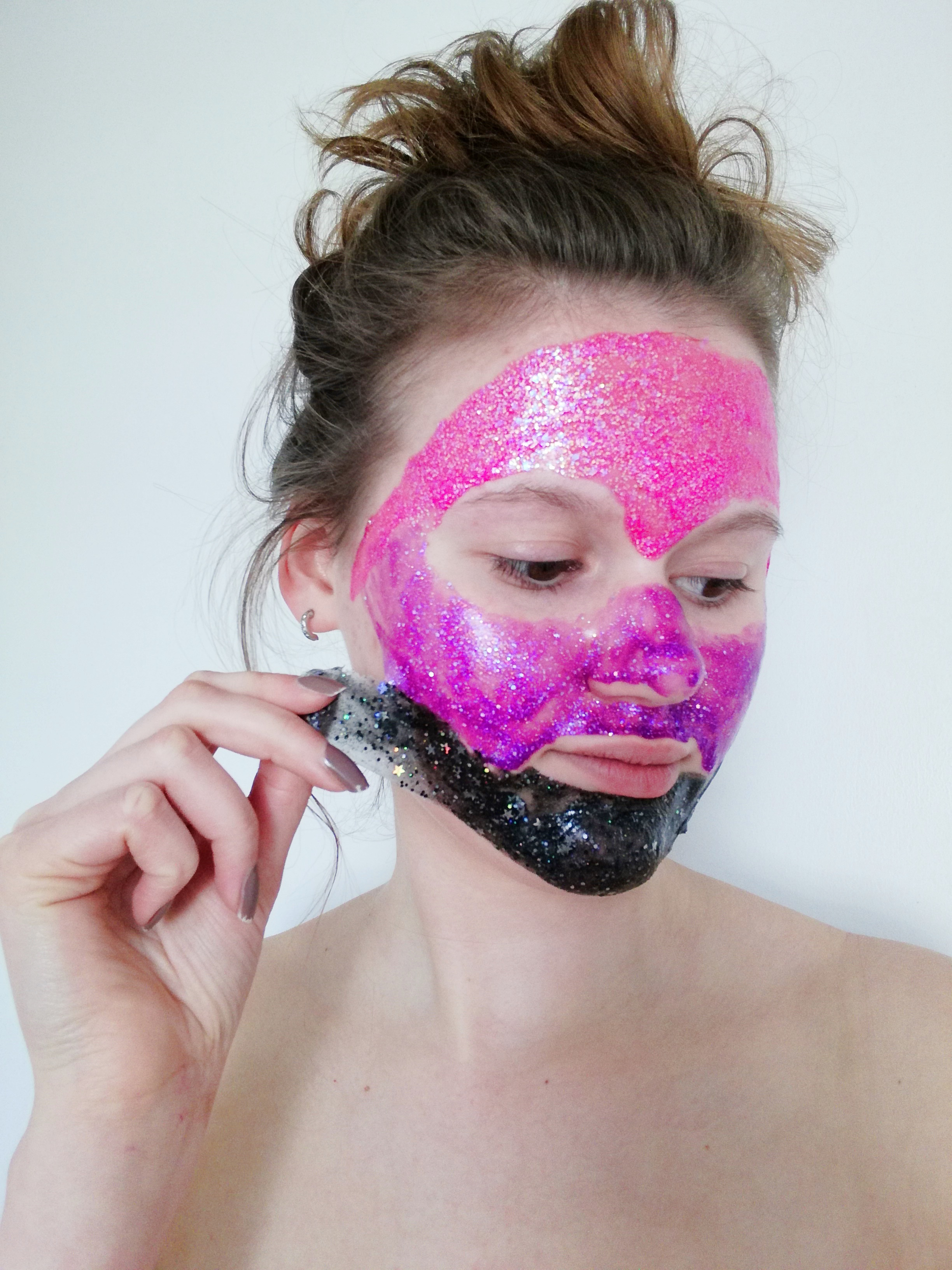 GLAMGLOW x MY LITTLE PONY Gravitymud glittermask peel-off