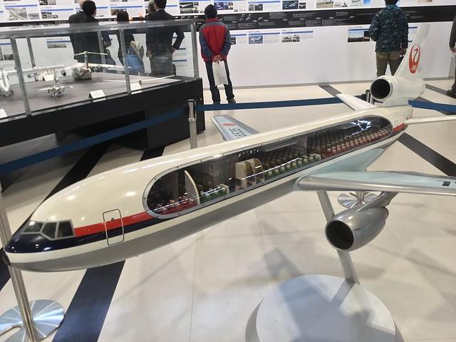あいち航空ミュージアム DC-10 模型 AA3046EF-2024-4C51-A683-A60B4A4566F6