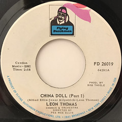 LEON THOMAS:CHINA DOLL(LABEL SIDE-A)
