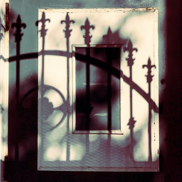 Wrought Iron Shadows