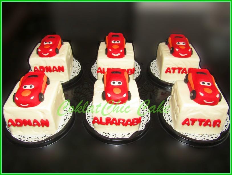 Minicake Lightning McQueen Disney Cars