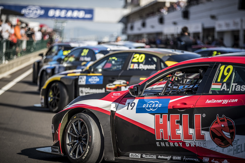 stand pit lane during the 2018 FIA WTCR World Touring Car cup, Race of Hungary at hungaroring, Budapest from april 27 to 29 - Photo Gregory Lenormand / DPPI