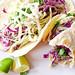 roast chicken soft tacos with cilantro cream