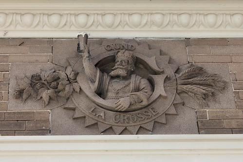 John Gund Brewing Company Building detail - Plattsmouth, NE