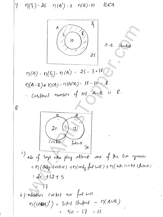 Ml aggarwal icse solutions for class 8 maths chapter 6 operation on ml aggarwal icse solutions for class 8 maths chapter 6 operation on sets venn diagrams a plus topper ccuart Choice Image