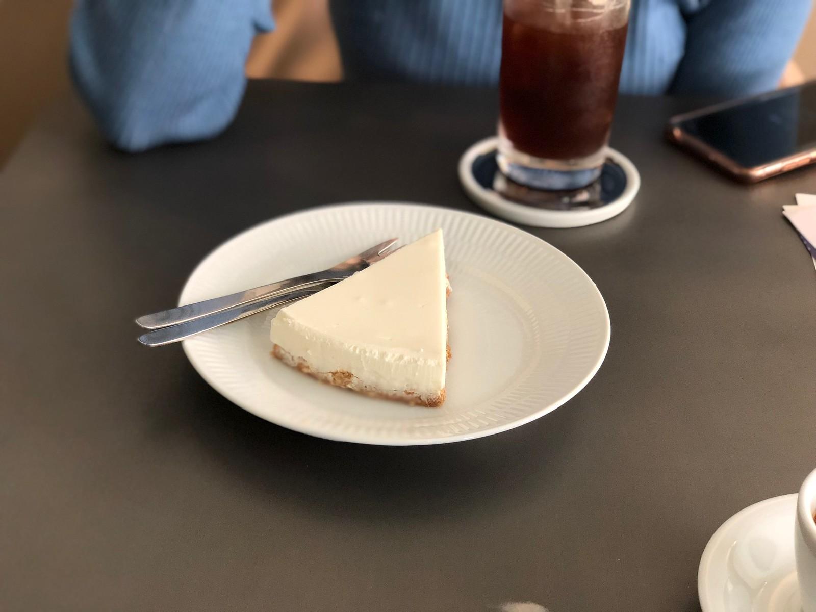 블루룸의 치즈케이크