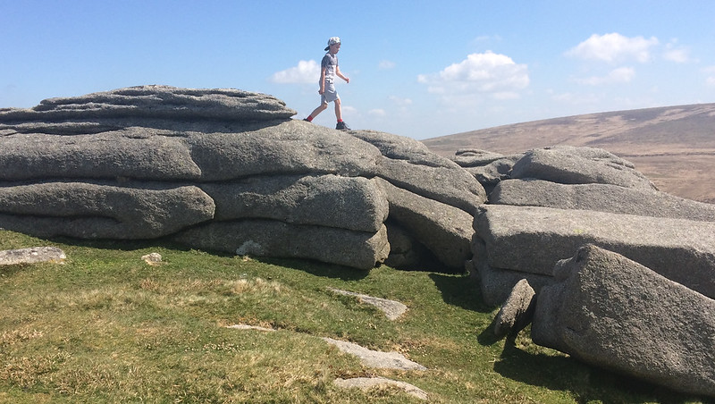 Belstone Tor southern outcrops