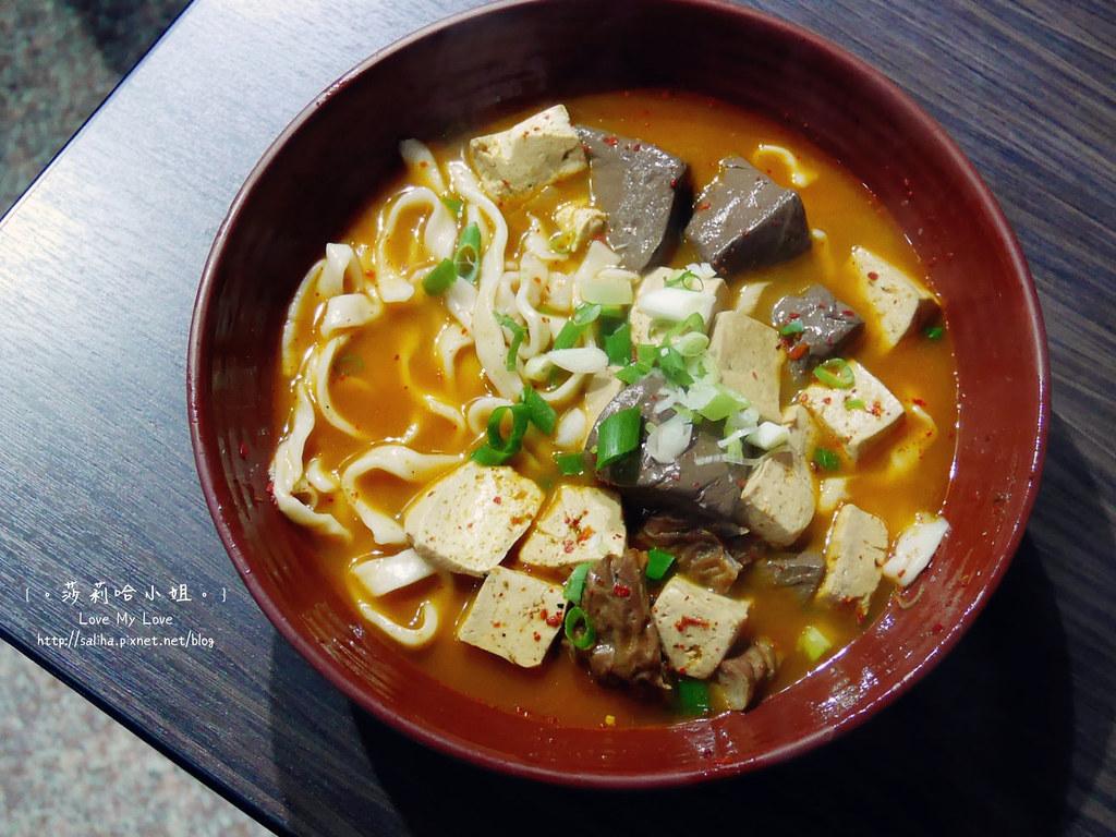 宜蘭市女中路美食餐廳推薦六眷村麻辣鴛鴦鍋刀削牛肉麵 (9)