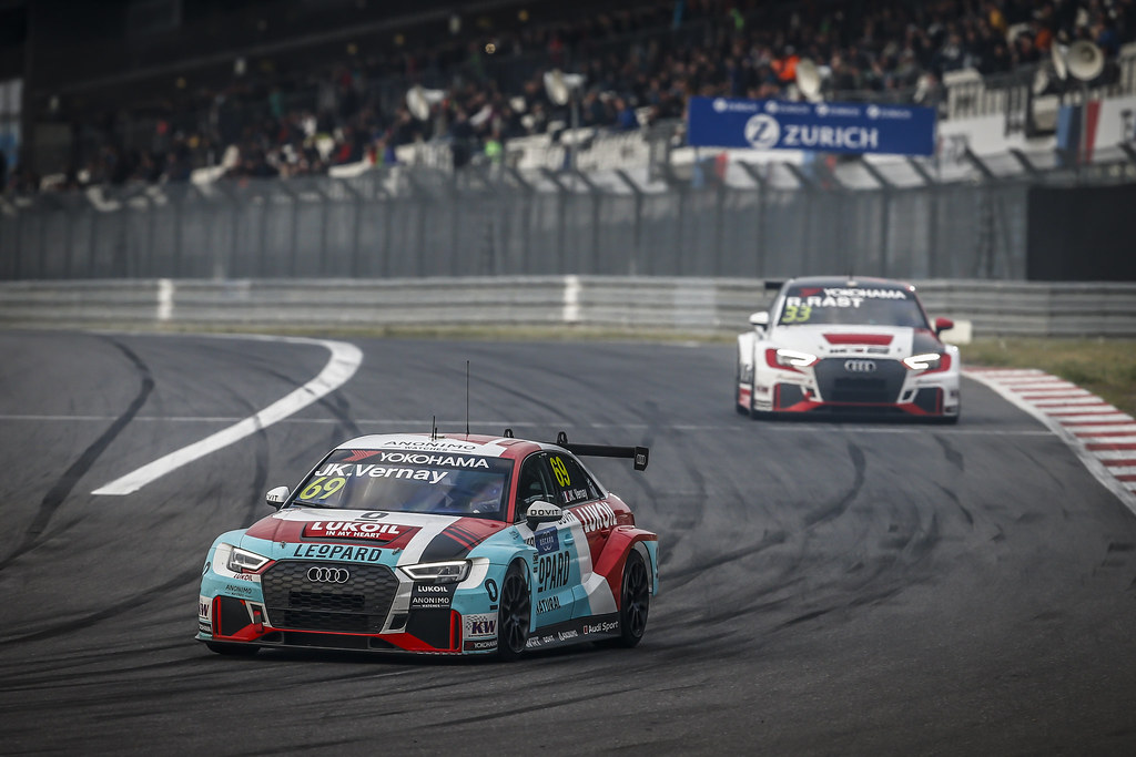 69 VERNAY Jean-Karl (FRA), Audi Sport Leopard Lukoil Team, Audi RS3 LMS, action during the 2018 FIA WTCR World Touring Car cup of Nurburgring, Nordschleife, Germany from May 10 to 12 - Photo Francois Flamand / DPPI